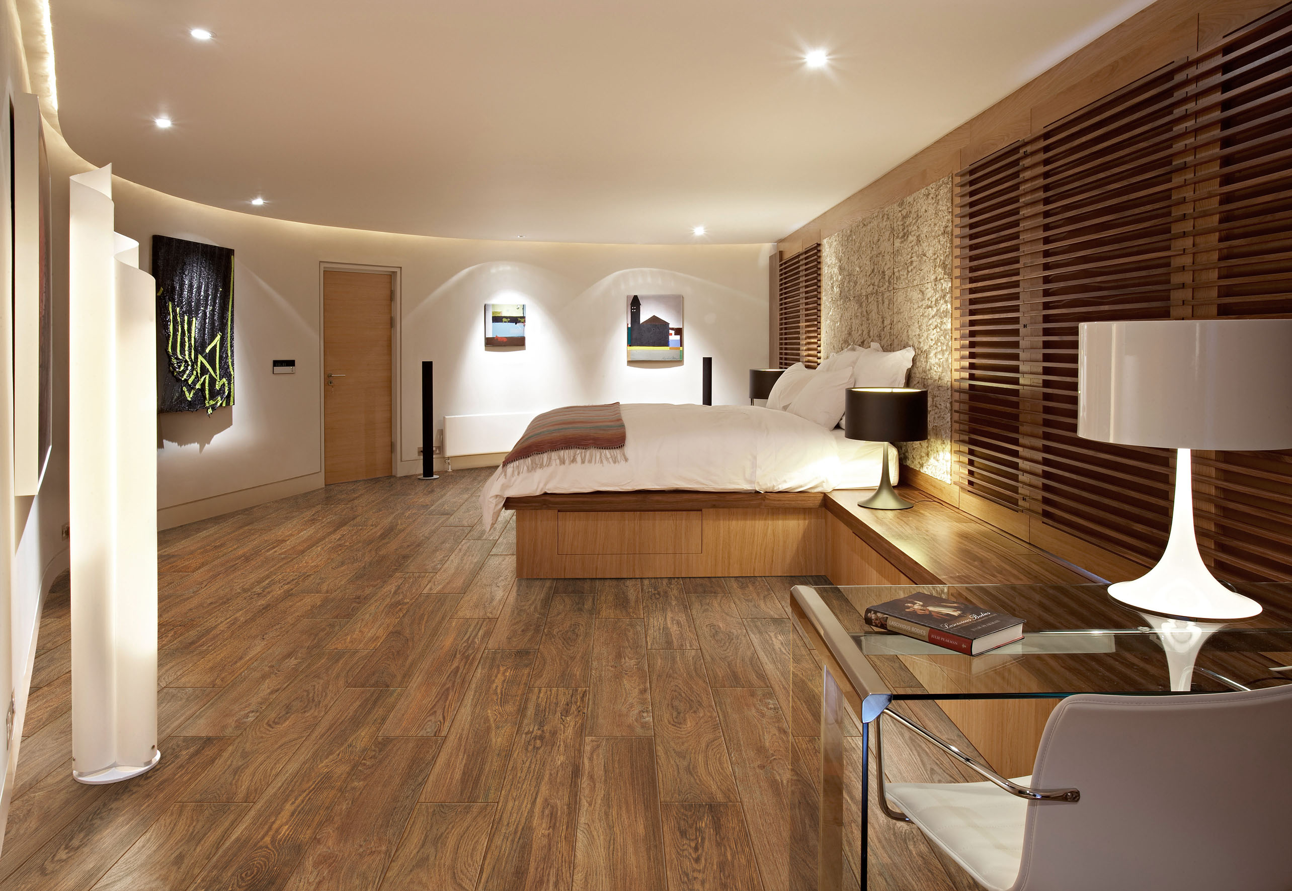 Bedroom Hardwood Floor Ideas