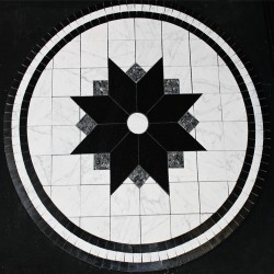 Circle Plasma Star Medallion