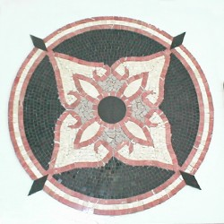 Red medallion
